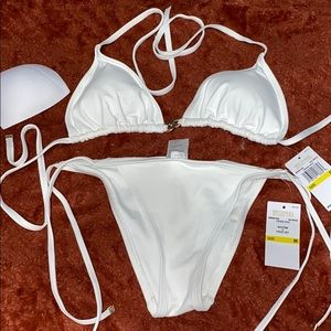 Michael Kors M White Bikini